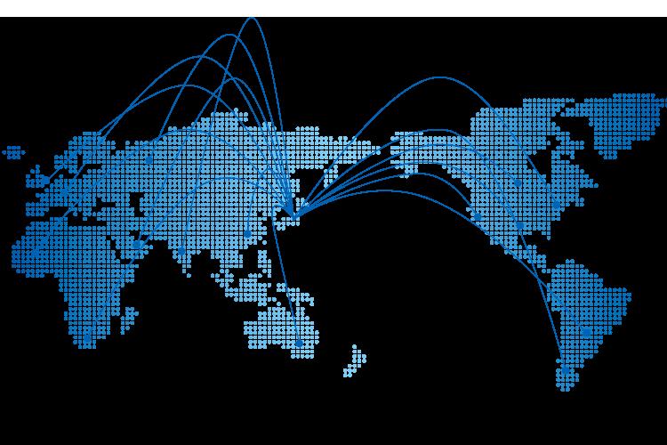海外展開に伴う拠点構築
